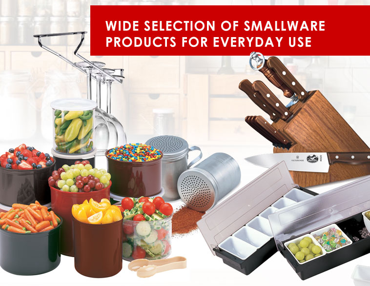 Smallware for Commercial Kitchens