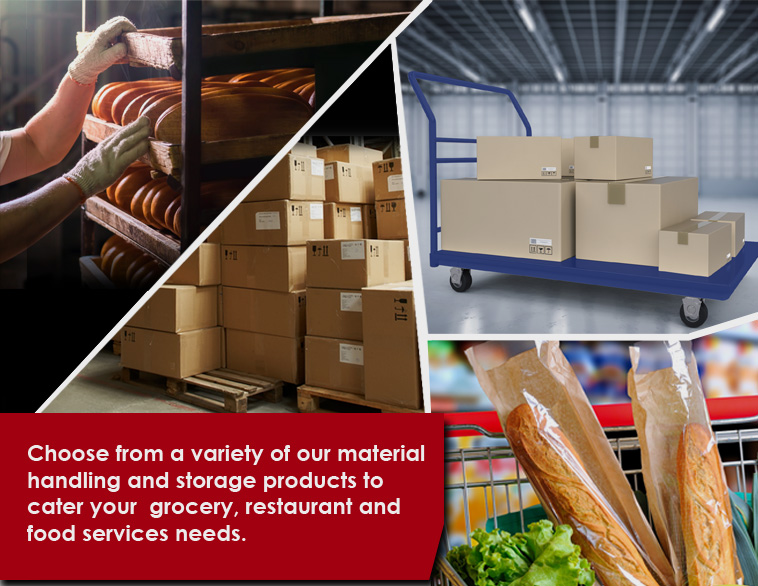 Restaurant Material Handling and Storage Equipment