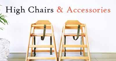 Different Types of High Chairs and Accessories for Your Restaurant