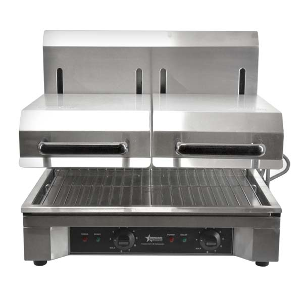 Superbe Quartz Adjustable Double Salamander | Kitchen Equipment | Zanduco US