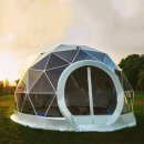 13 Ft Restaurant Patio Dining Geodesic Dome Tent | Furniture | Zanduco CA