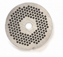"#12  Grinder Plate - Hubless 1/8"" 3.2mm One Notch/ Round 