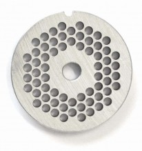 "#12  Grinder Plate - Hubless 3/16"" 4.8mm One Notch/ Round 