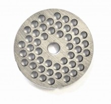 "#12  Grinder Plate - Hubless 1/4"" 6.4mm One Notch/ Round 