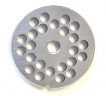 "#12  Grinder Plate - Hubless 5/16"" 8mm One Notch/ Round 
