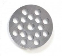 "#12  Grinder Plate - Hubless 3/8"" 10mm One Notch/ Round 