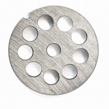 "#12  Grinder Plate - Hubless 1/2"" 12mm One Notch/ Round 