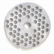 "#22  Grinder Plate - Hubless 1/4"" 6mm One Notch/ Round 