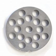 "#22  Grinder Plate - Hubless 1/2"" 12mm One Notch/ Round 
