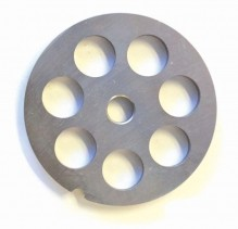 "#22  Grinder Plate - Hubless 3/4"" 18mm One Notch/ Round 