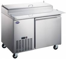 "Zanduco 50"" Refrigerated Pizza Prep Table 13.8 cu. Ft. 
