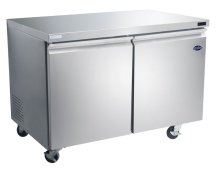 "Zanduco 47"" Undercounter Stainless Steel Freezer 12 cu ft 