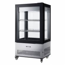 "Zanduco 33"" Refrigerated Display Case with 350 L Capacity 