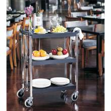 Small Folding Dining Cart | Material Handling Transport & Storage | Zanduco CA