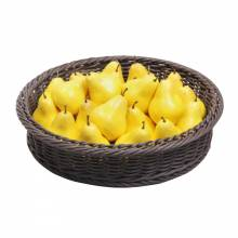 Zanduco Round Rattan Basket for 3-Tier Display Stand | Bar Service & Tablewares | Zanduco CA