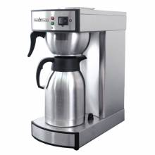Stainless Steel Coffee Maker with 2 Liter Thermal Carafe