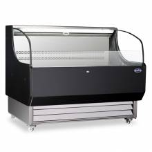 "Zanduco 52"" Open Refrigerated Floor Display Case with 13.07 cu. ft. 
