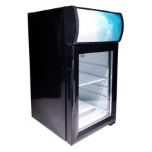 "Zanduco 13"" Countertop Display Refrigerator with 21L Capacity 