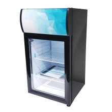 "Zanduco 16"" Countertop Display Refrigerator with 40L Capacity 