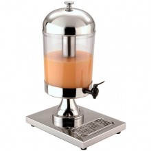 Single Ice Cooled Juice Dispenser 8-Quart | Smallwares | Zanduco US