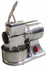European Stainless Steel Cheese Grater with 1.5 HP | Restaurant Equipment | Zanduco CA