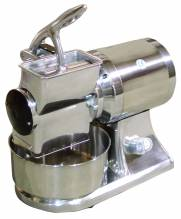 European Stainless Steel Cheese Grater with 1.5 HP and Micro-Switch | Restaurant Equipment | Zanduco CA
