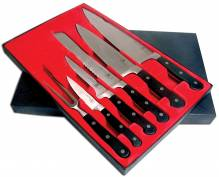 6 Piece Forged Knife Set | Smallwares | Zanduco US
