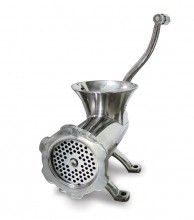 Manual Stainless Steel Meat Grinder #22 | Kitchen Equipment | Zanduco CA