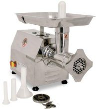 REFURBISHED -MEAT GRINDER #22 STAINLESS STEEL 1.5 HP/1119 W 110V/60/1 cETLus | Refurbished Products | Zanduco US