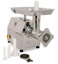 #22 Stainless Steel Meat Grinder with 1.5 HP Motor | Restaurant Equipment | Zanduco US