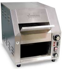 "Stainless Steel Conveyor Toaster with 9-5/8"" Conveyor Belt 