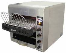 "Stainless Steel Conveyor Toaster with 10"" Conveyor Belt 
