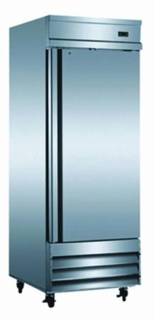 "Refurbished - 29"" Single Door Reach-In Refrigerator 