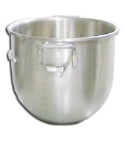 30 Qt Replacement Stainless Steel Bowl for 30 QT General Purpose Mixers | Restaurant Equipment | Zanduco US