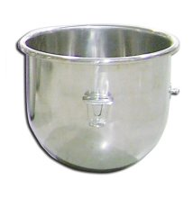 20 Qt Replacement Stainless Steel Bowl for Omcan Mixer 12000-111 | Kitchen Equipment | Zanduco US