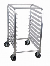 6 Slides Bun Pan Rack - Stainless Steel | Material Handling Transport & Storage | Zanduco US