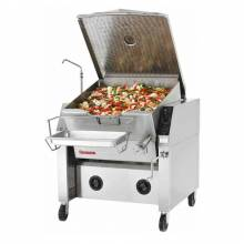 Market Forge 30P-STEM 30 Gallon Electric Tilting Skillet with Closed Base - 240V | Kitchen Equipment | Zanduco CA