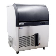 "Omcan IC-CN-0060 28"" Air Cooled Full Cube Ice Machine - 132 lb Production, 70 lb Storage 