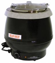 10.6 QT Soup Kettle with Plastic Lid | Kitchen Equipment | Zanduco CA