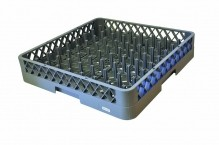 9 x 9 Gray Plastic Peg Rack 6 / Case | Sinks & Dish Room | Zanduco US