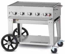 "Crown Verity 36"" Natural Gas Mobile Grill 