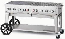 "Crown Verity 60"" Natural Gas Mobile Grill 