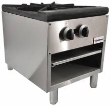 Single Gas Range with 100,000 B.T.U. | Kitchen Equipment | Zanduco US