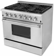 "36"" Heavy-Duty Residential Gas Range 
