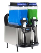 Bunn ULTRA-2 AF Liquid Auto Fill Black Stainless Steel 2 Bowl Slush / Frozen Drink Machine, 3 Gallon, CFV | Bar Service & Tablewares | Zanduco US