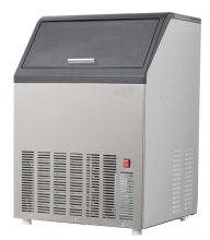 "Omcan IC-CN-0016 22"" Air Cooled Undercounter Cube Ice Machine - 150 lb Production, 35 lb Storage 