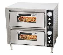 "27"" Double Chamber Countertop Pizza Oven 