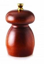 8cm Long-Seasoning Beech Wood Classic Pepper Mill MP | Smallwares | Zanduco US