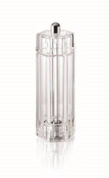 15cm Acrylic Resin Crystal Shape Pepper Mill | Salt, Pepper and Spice Grinders | Zanduco CA