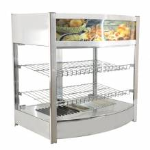 Elite Series Hot Display Case with 107L Capacity | Kitchen Equipment | Zanduco US